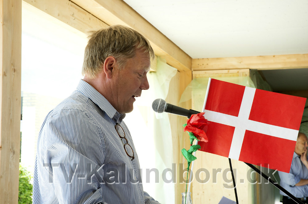 skoleleder John Saxild-Hansen. Foto: Jens Nielsen