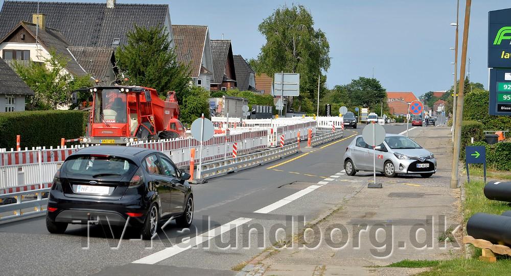Bilister der kører ud ad byen skal svinge ind over tankanlægget F24. Foto: Jens Nielsen