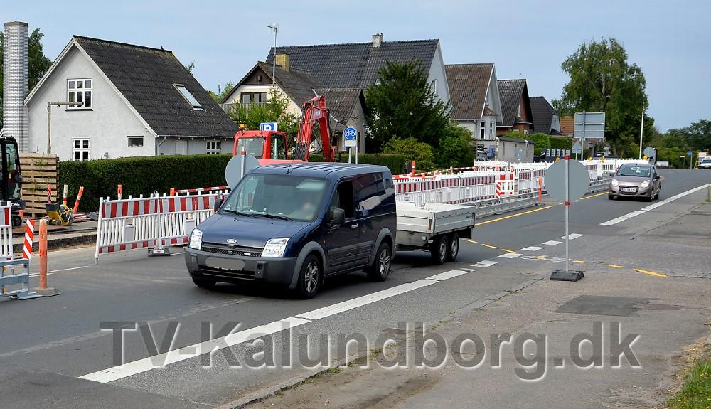 Flere bilister kører lige forbi skiltene, mens andre sagtens kan finde ud af det. Foto: Jens Nielsen