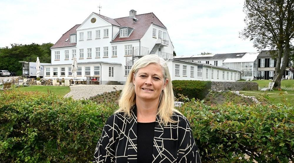 Det er Hanne Dyremose som står i spidsen for Strandhotel Røsnæs og Restaurant Næs. Foto: Jens Nielsen
