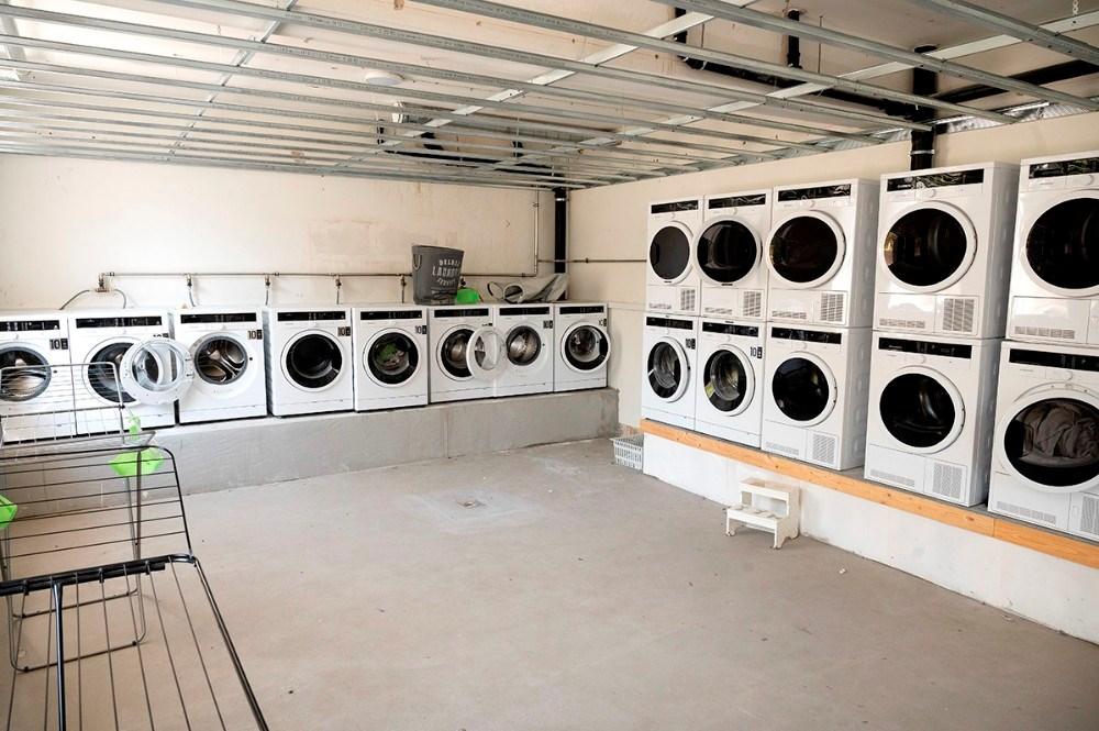 Vaskekælderen i bygning 1. Foto: Jens Nielsen