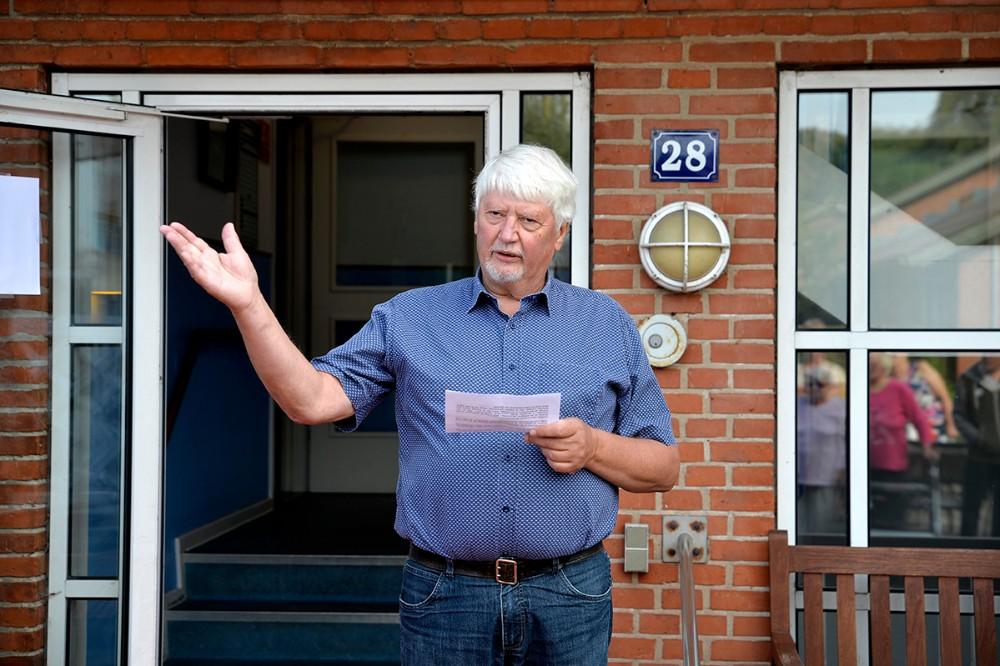Næstformand for Seniorhuset Birkely, Flemming Bjerggaard. Foto: Jens Nielsen