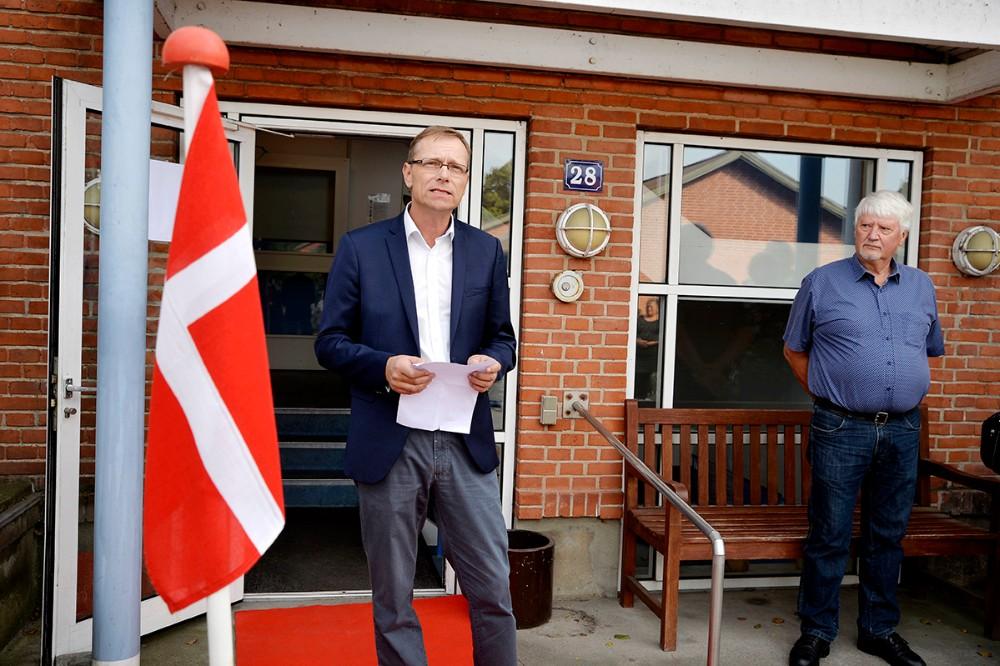 Formand for Ældre- og Sundhedsudvalget Peter Jacobsen. Foto: Jens Nielsen