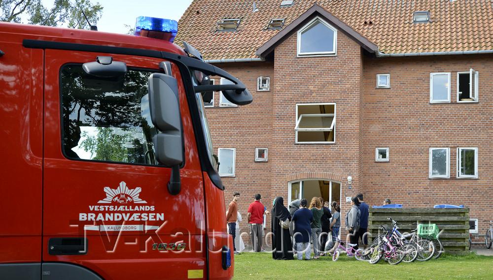 Vestsjællands Brandvæsen har flere gange været kaldt til asylcentret, men problemet er ikke stort.Arkivfoto: Jens Nielsen