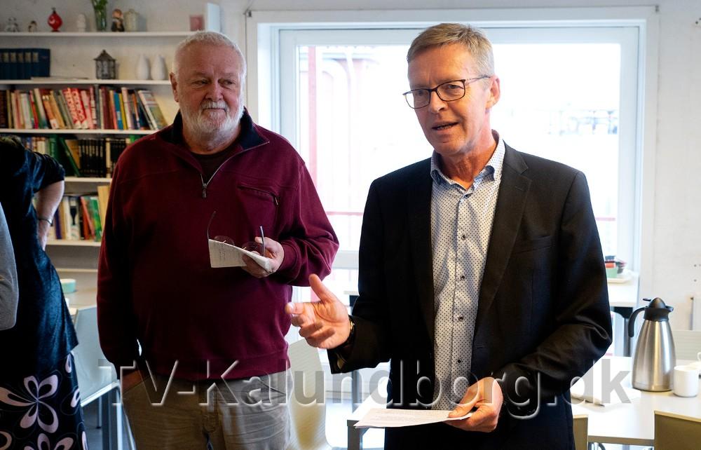Bjarne Dybdahl, her sammen med Kaj Buch Jensen. Foto: Jens Nielsen