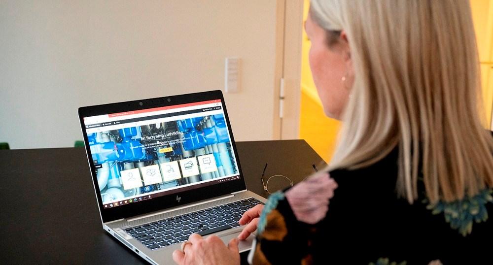 Kalundborg Forsyning har fået ny hjemmeside. Foto: Jens Nielsen