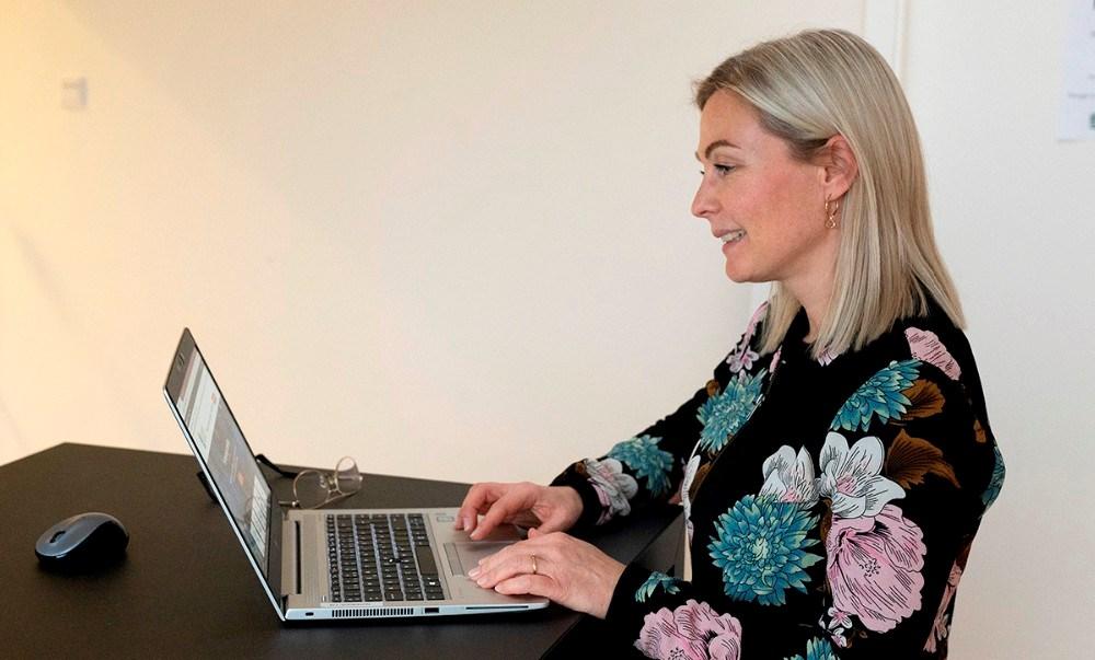 Anne Sødal Aagren, der er kommunikationsansvarlig hos Kalundborg Forsyning. Foto: Jens Nielsen