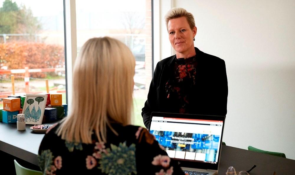 Line Kromann, kundechef hos Kalundborg Forsyning. Foto: Jens Nielsen
