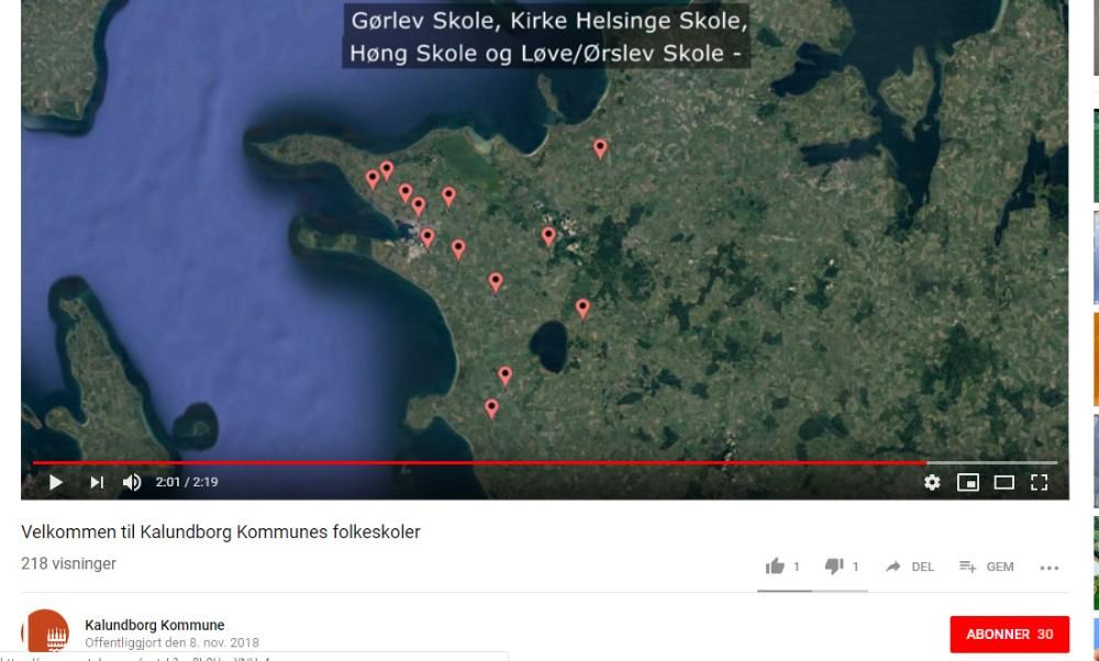 Videofilmene kan ses på Kalundborg Kommunes hjemmeside eller på Youtube.