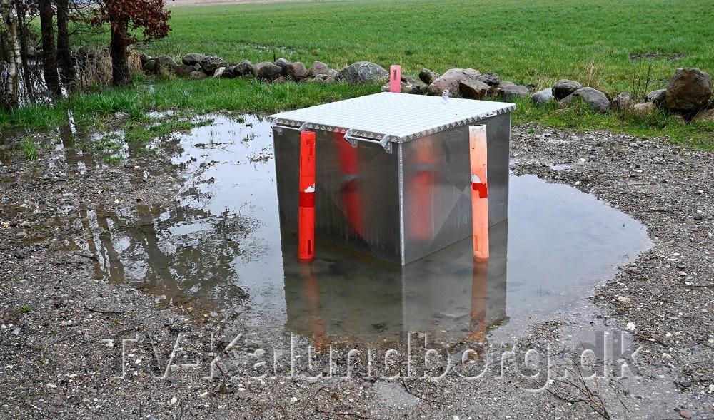 Pumpestationen på Ærtevangen i Rørby er udfordret. Foto: Jens Nielsen