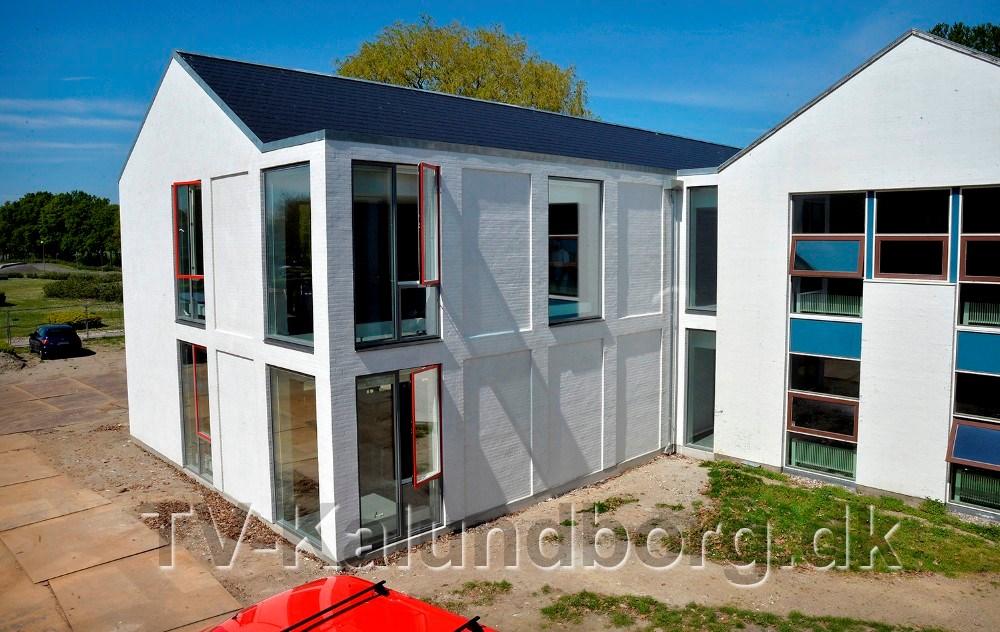 Den nye tilbygning til Kalundborg Gymnasium og HF blev indviet mandag. Foto: Jens Nielsen