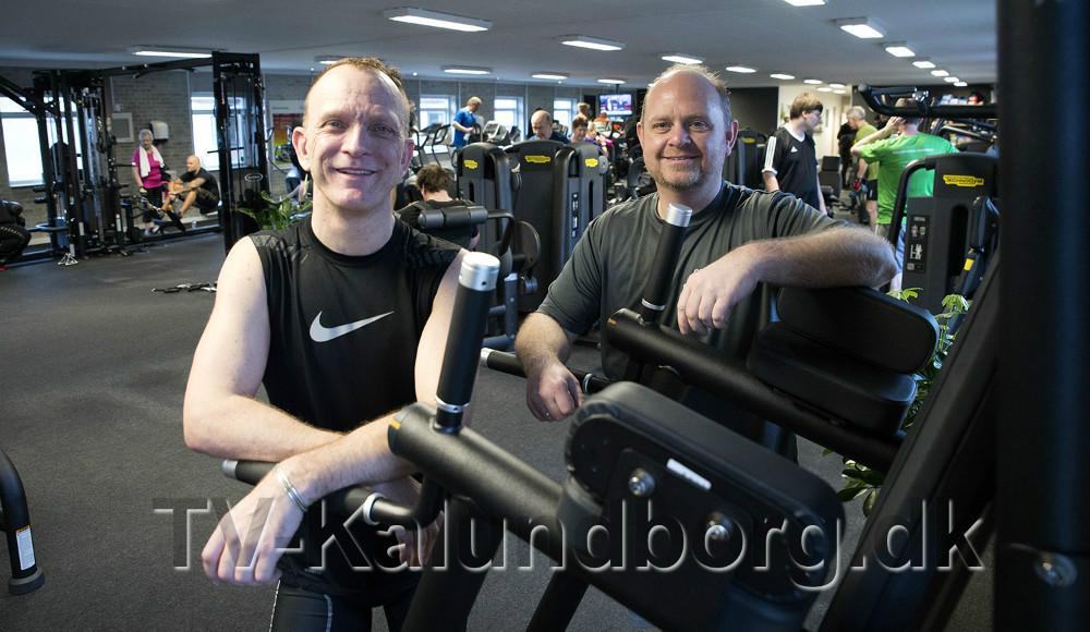 Indehaverne af Go' Form i Kalundborg, Thomas Saaby Hansen og Søren Lund Larsen. Foto: Jens Nielsen