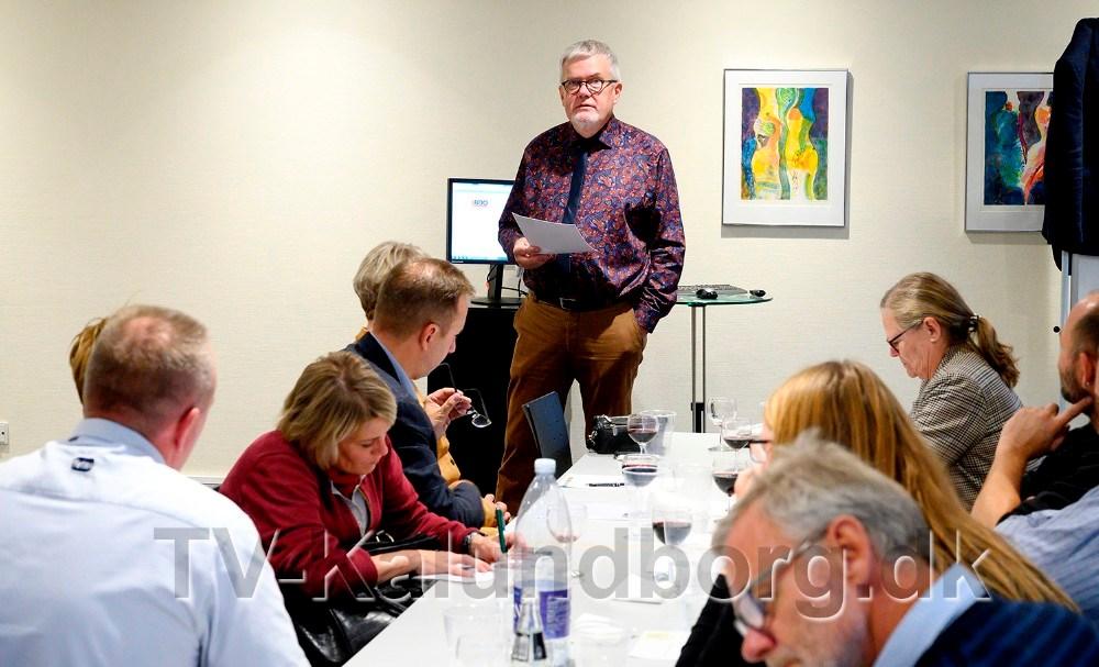 Henrik Petersson aflagde bestyrelsen beretning. Foto: Jens Nielsen