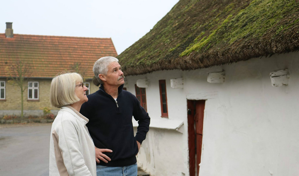 Kasserer Tove Andersen og Formand René Rohde