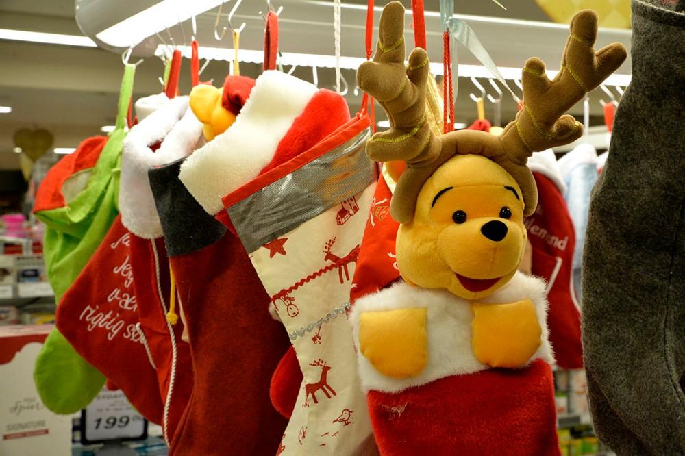 Børnene har mulighed for at aflevere deres julesok på lørdag. Foto: Jens Nielsen