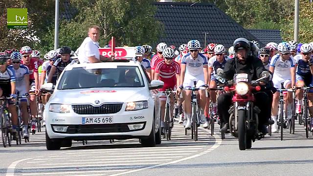 Billede fra 2014 hvor Kalundborg var startby på sidste etape af Post Danmark Rundt. Foto: Jens Nielsen