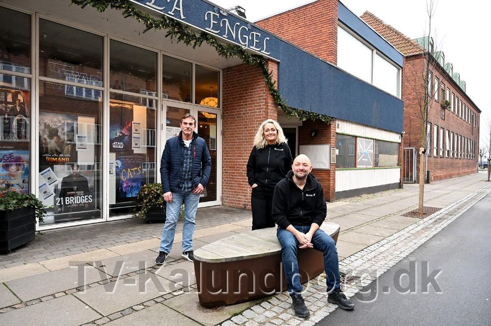Kino Den Blå Engel udvider nu med en ekstra biografsal. Foto: Jens Nielsen