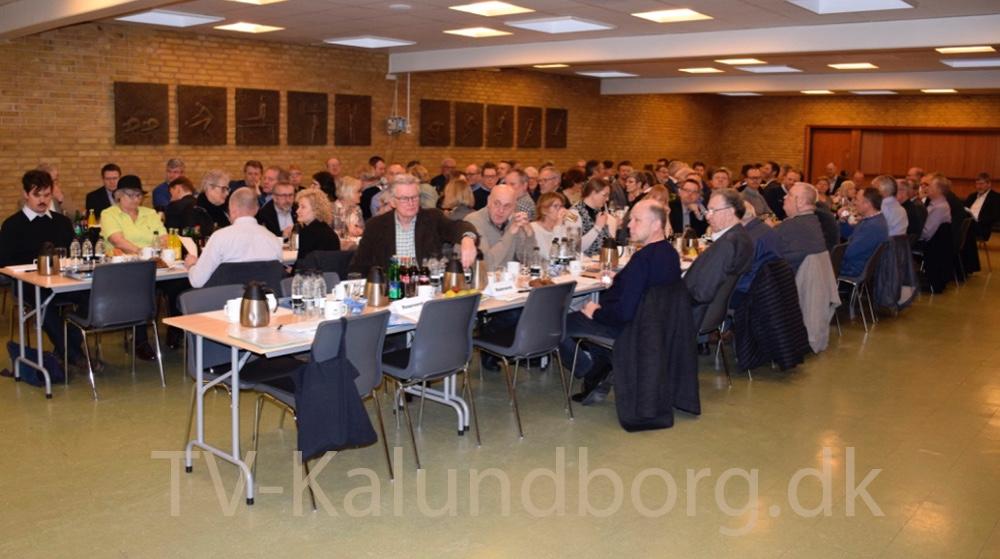 Godt 100 medlemmer var samlet til Generalforsamling i Kalundborgegnens Erhvervsråd i går. Foto: Gitte Korsgaard.
