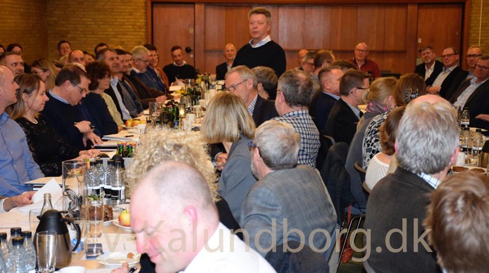 Erik Johnsen er på genvalg til bestyrelsen, og blev valgt. Foto: Gitte Korsgaard.
