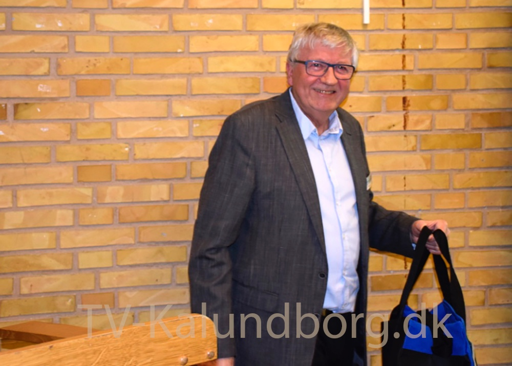 Tidligere formand i Kalundborgegnens Erhvervsråd, Ole Lauritzen. Foto: Gitte Korsgaard.