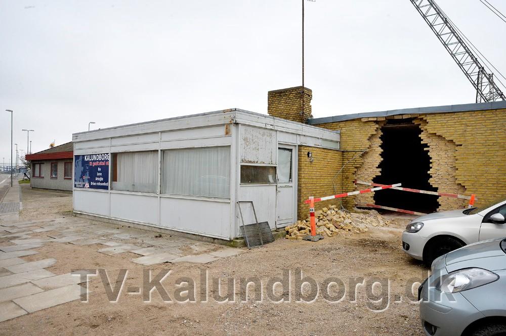 Den gamle Taxa bygning rives ned inden længe. Foto: Jens Nielsen