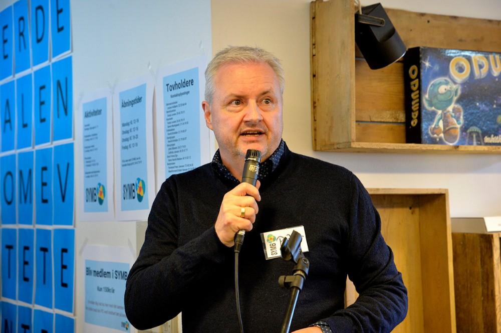 Formand for bestyrelsen Peter Joensen. Foto: Jens Nielsen