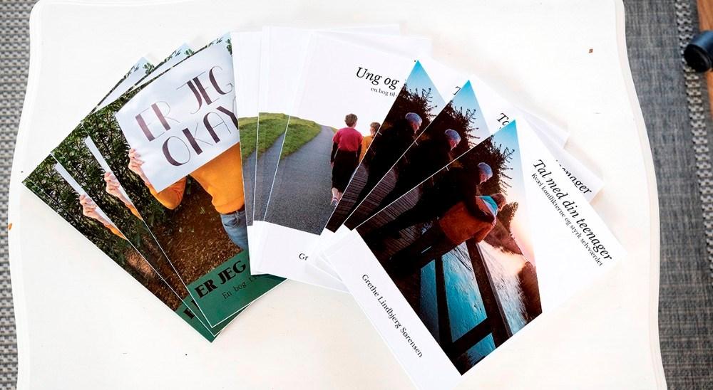Grethe Lindbjerg har udgivet flere bøger om emnet. Foto: Jens Nielsen