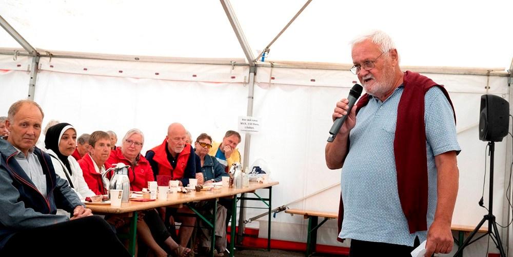 Formand for støtteforeningen Kaj Buch Jensen.