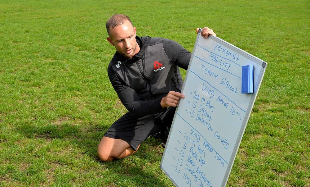 personlig træner Michael Hougaard Da Silva fra Kalundborg. Foto: Jens Nielsen