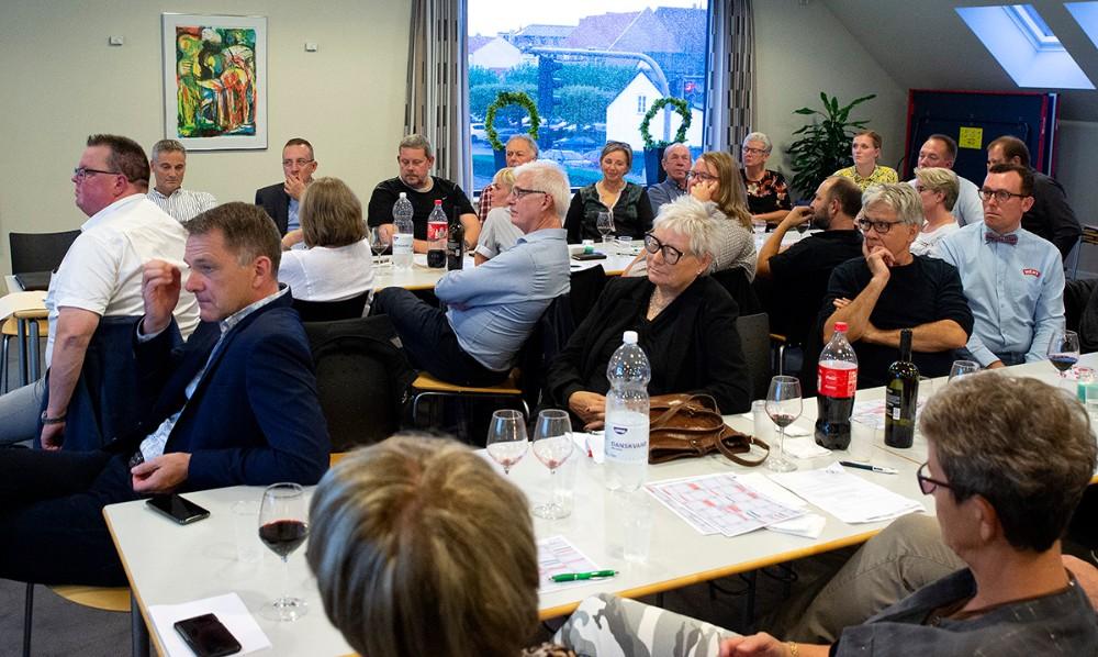 Generalforsamling i Vores Kalundborg, torsdag aften. Foto: Jens Nielsen