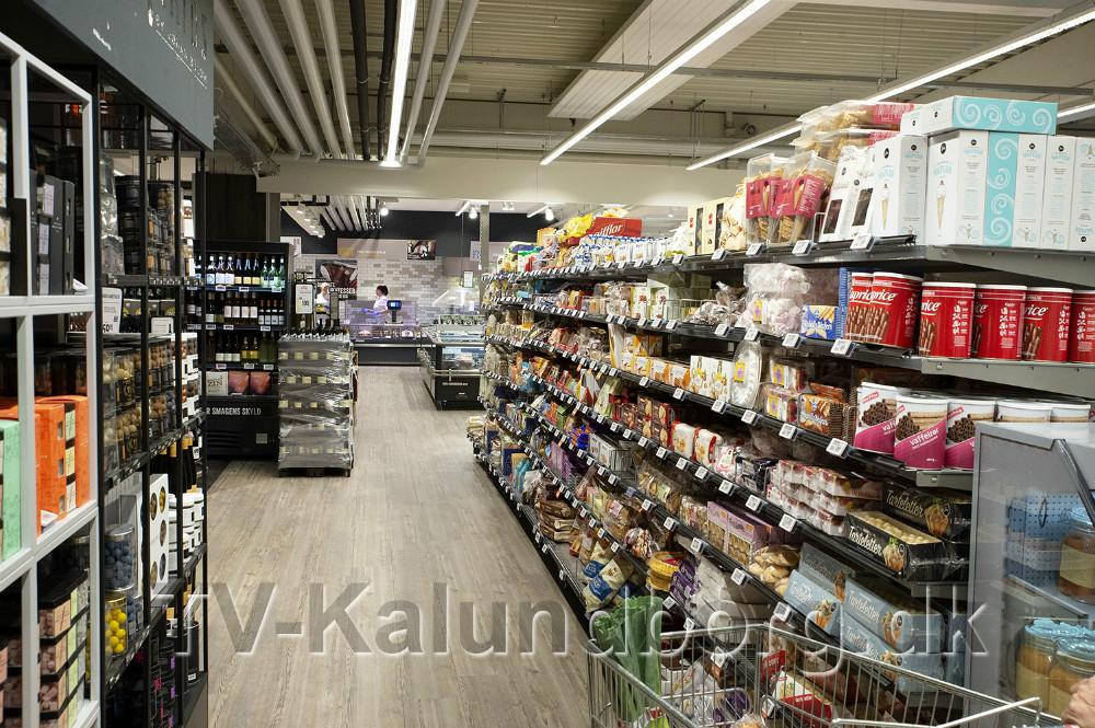 Flere varer har fået nye pladser. Foto: Jens Nielsen