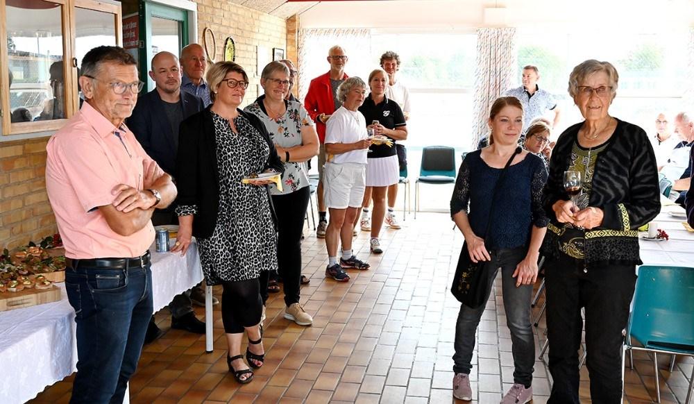 Receptionsgæsterne til 25-års jubilæet. Foto: Jens Nielsen