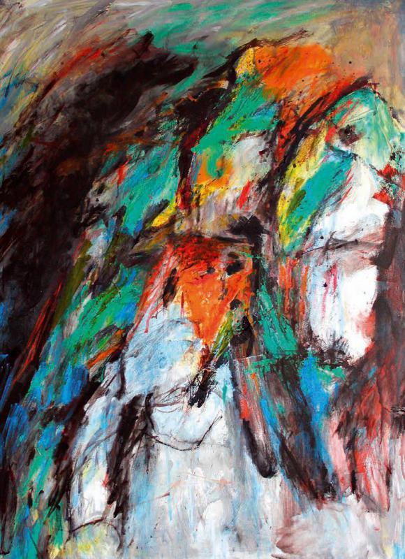 Kunstværk af Grete Balle.