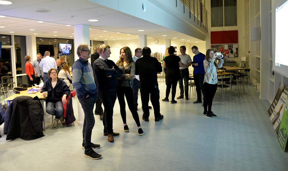 Valgcafe på rådhuset. Foto: Jens Nielsen