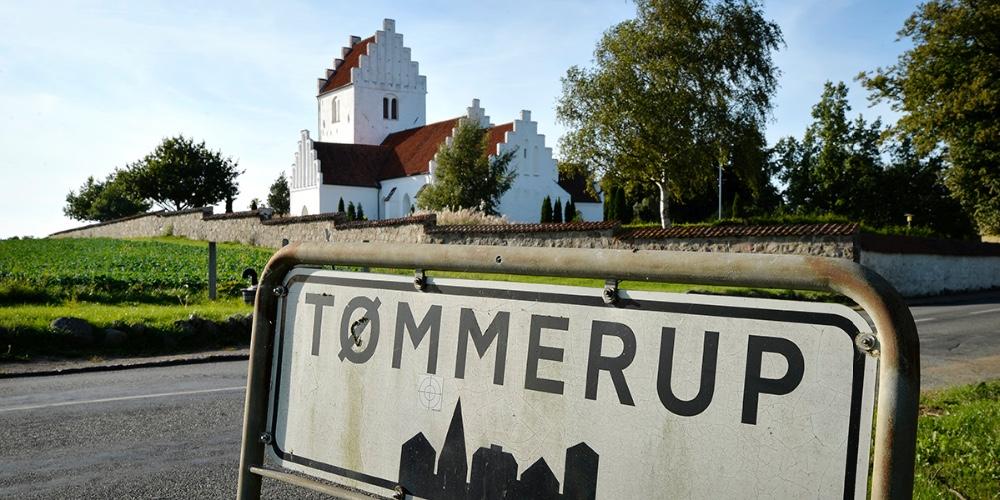 Tømmerup Kirke, hvor den nu pædofili-sigtet tidligere præst, Dan Peschack fungerede sompræst indtil sommer sidste år.