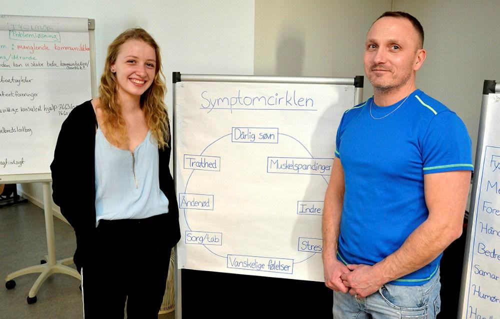 Instruktørerne Cecilie Amdi Nielsen og Bob Arup. Foto: Jens Nielsen