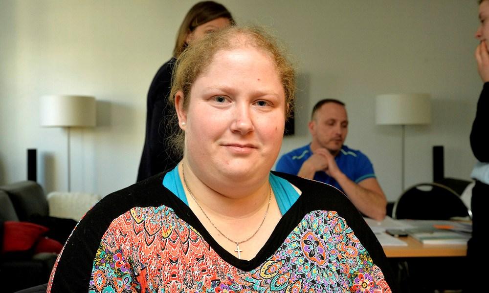 Maja Frantzen har lært at takle angst og depression. Foto: Jens Nielsen