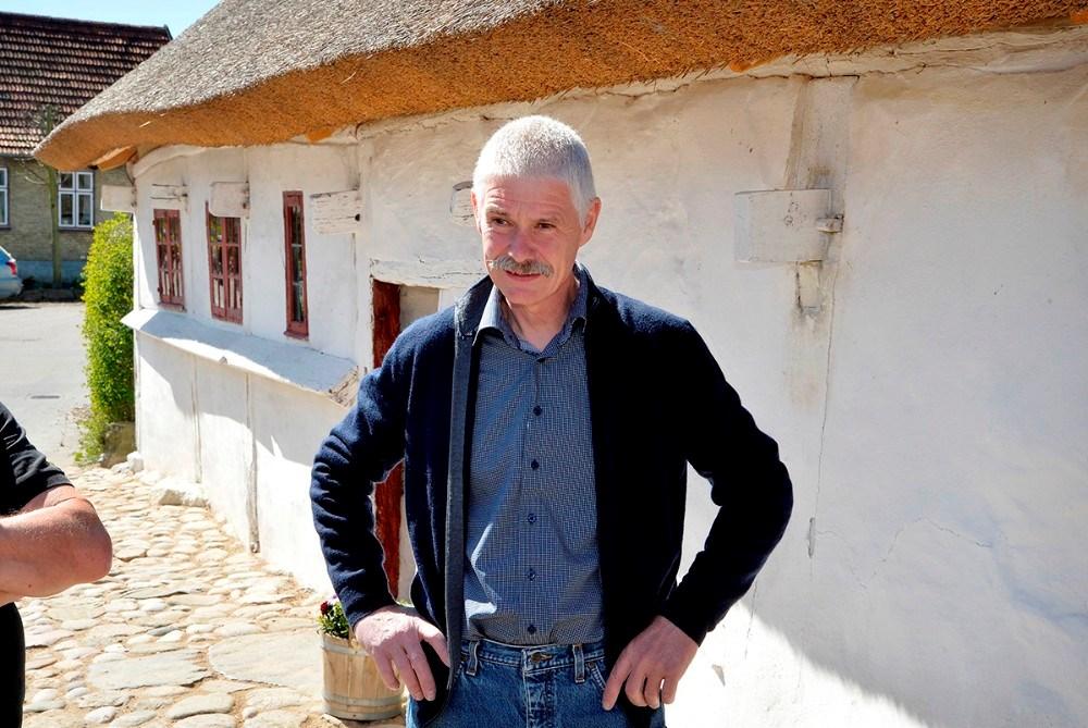 René Rohde, formand for Reersø Museum og tømrermester, som har stået for det meste af arbejdet i det gamle hus. Foto: Jens Nielsen