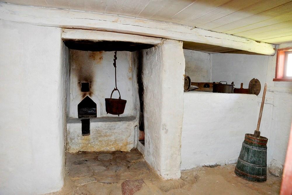 Køkkenet i det gamle hus. Foto: Jens Nielsen