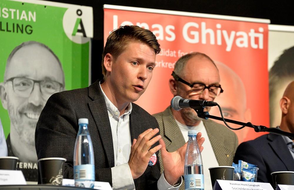 Rasmus Horn Langhoff, Socialdemokratiet. Foto: Jens Nielsen