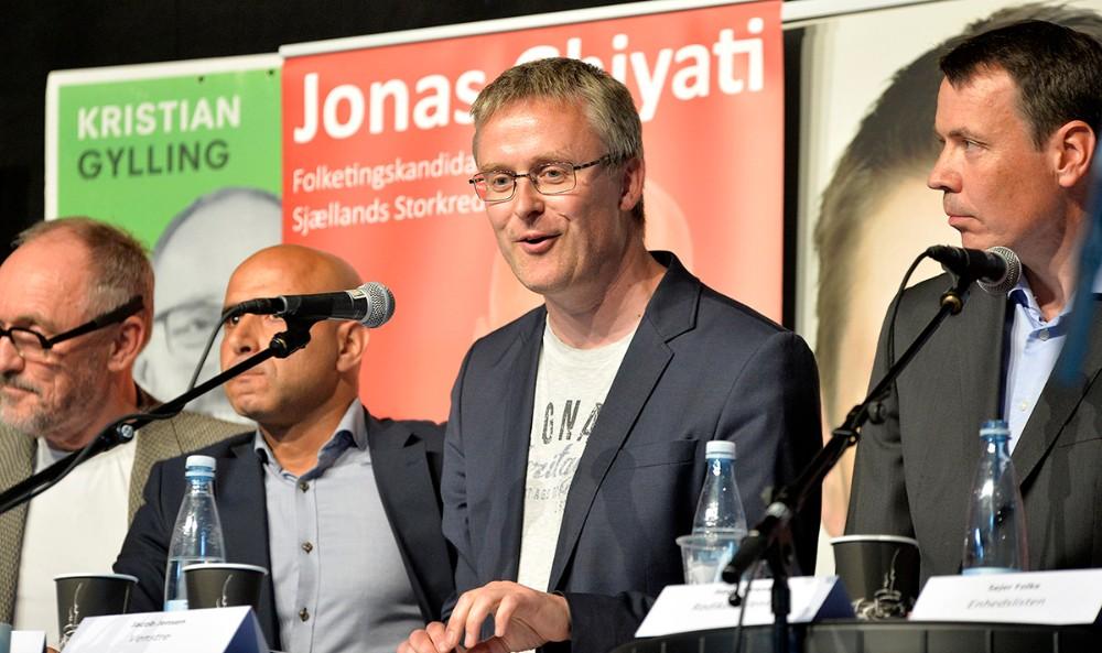 Jacob Jensen, Venstre. Foto: Jens Nielsen