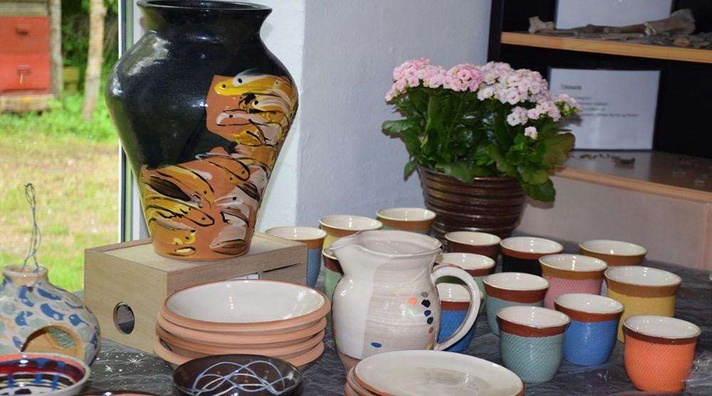 Keramik af Hanne Christensen. Foto: Gitte Korsgaard.