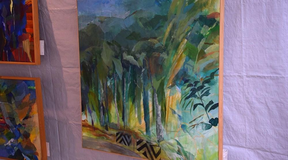 Maleri af Erling Jeppesen. Foto: Gitte Korsgaard.