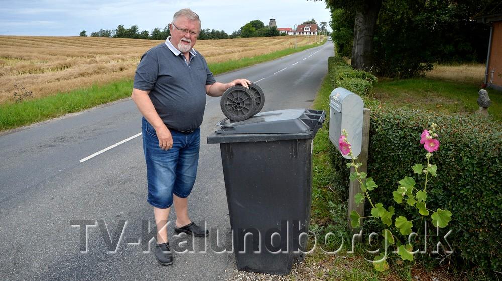 Bjarne Jensen er irriteret over at der ikke bliver taget ansvar. Foto: Jens Nielsen