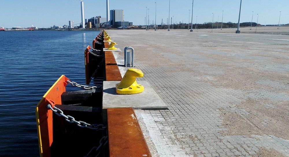Kalundborg Havn regner med at Ny Vesthavn kan tages i brug sidst på året. Arkivfoto: Jens Nielsen