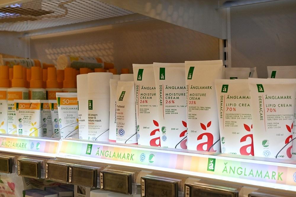 Der gives 15 rabat på alt Änglamark hvis kunden er tilmeldt primekonto på deres Coop App. Foto: Jens Nielsen