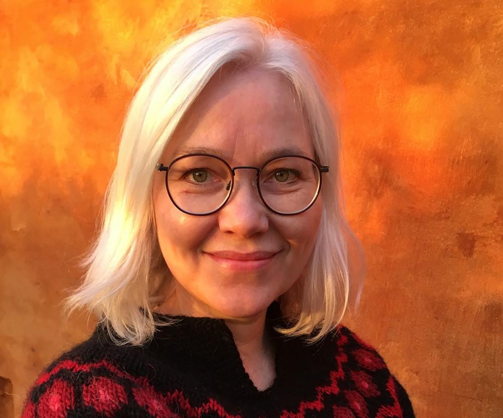 Lisbeth Imer - gæster Fugledegård Vikingecenter. Foto: PR