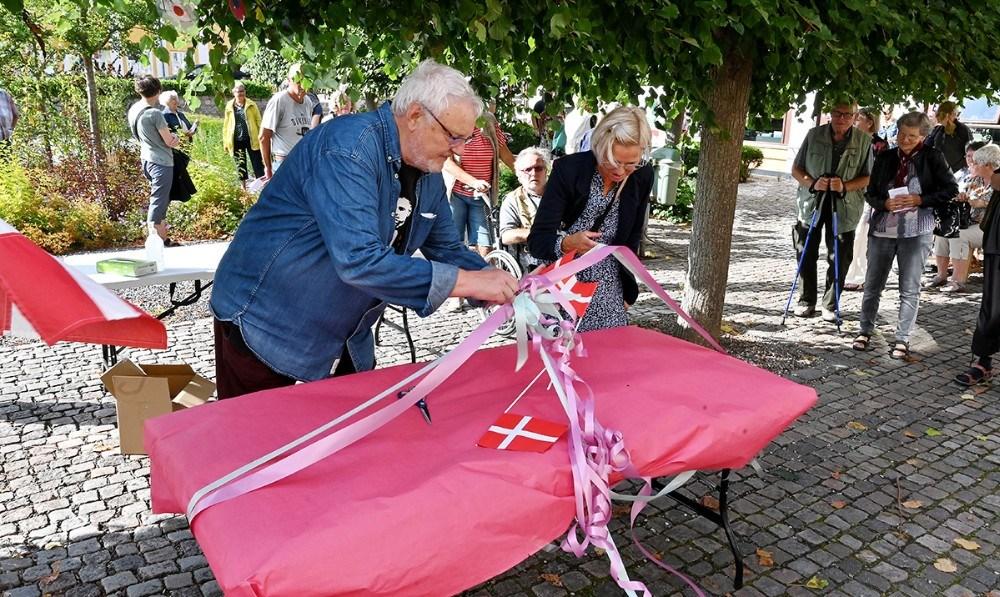 Det nye efterårskatalog med afsløret fredag eftermiddag. Foto: Jens Nielsen