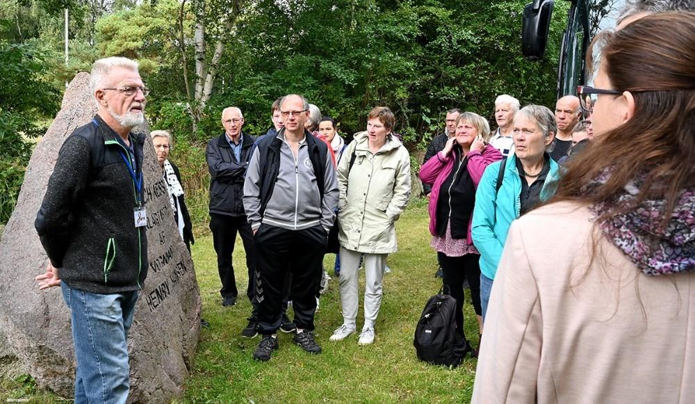 Tilflyttere til Kalundborg Kommunen fik en rundvisning im det naturskønne område Loch Ness. Foto: Jens Nielsen