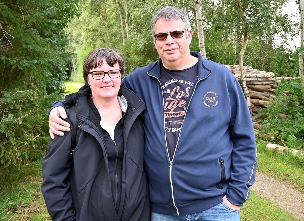 Helle Jensen og Søren Andersen er glade for at være flyttet til Kalundborg. Foto: Jens Nielsen